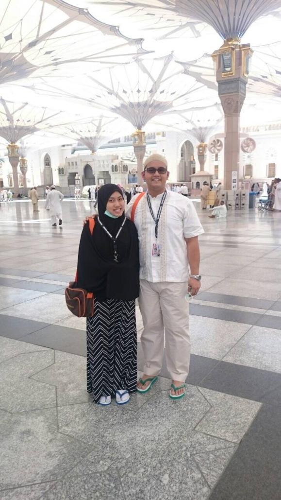 Baru sampai di Masjid Nabawi