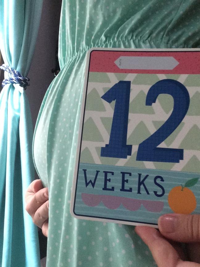 Sebenarnya udah 15 minggu tapi milestone 12 minggu nya kelewatan.. gapapa lah ya :)